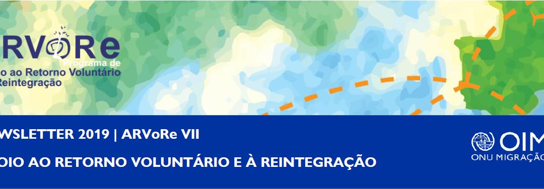Programa de Apoio ao Retorno Voluntário e à Reintegração – Newsletter 2019